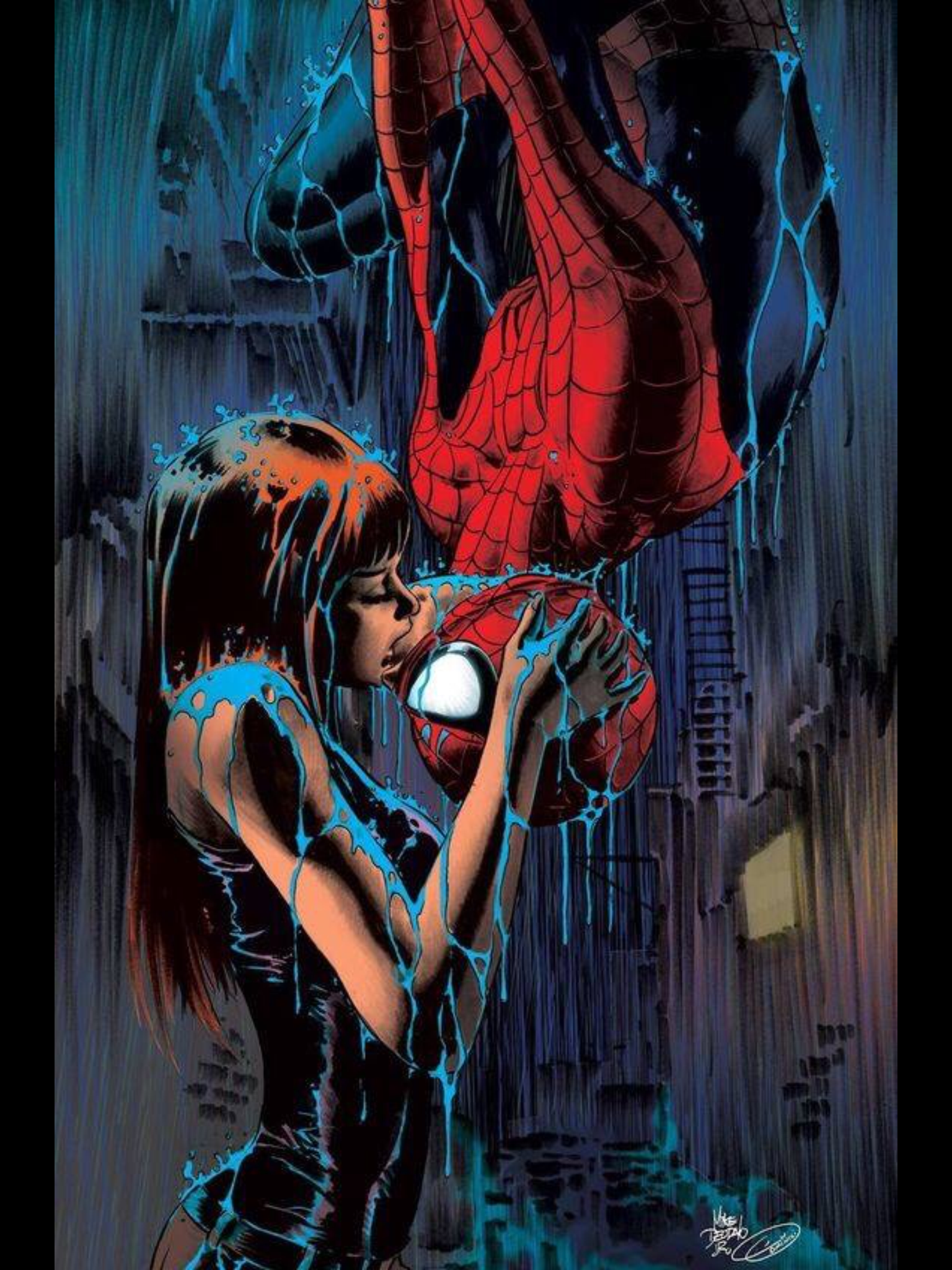 Mary-Jane & Spidy | Gettin My Comic-Con ON | Spiderman ...