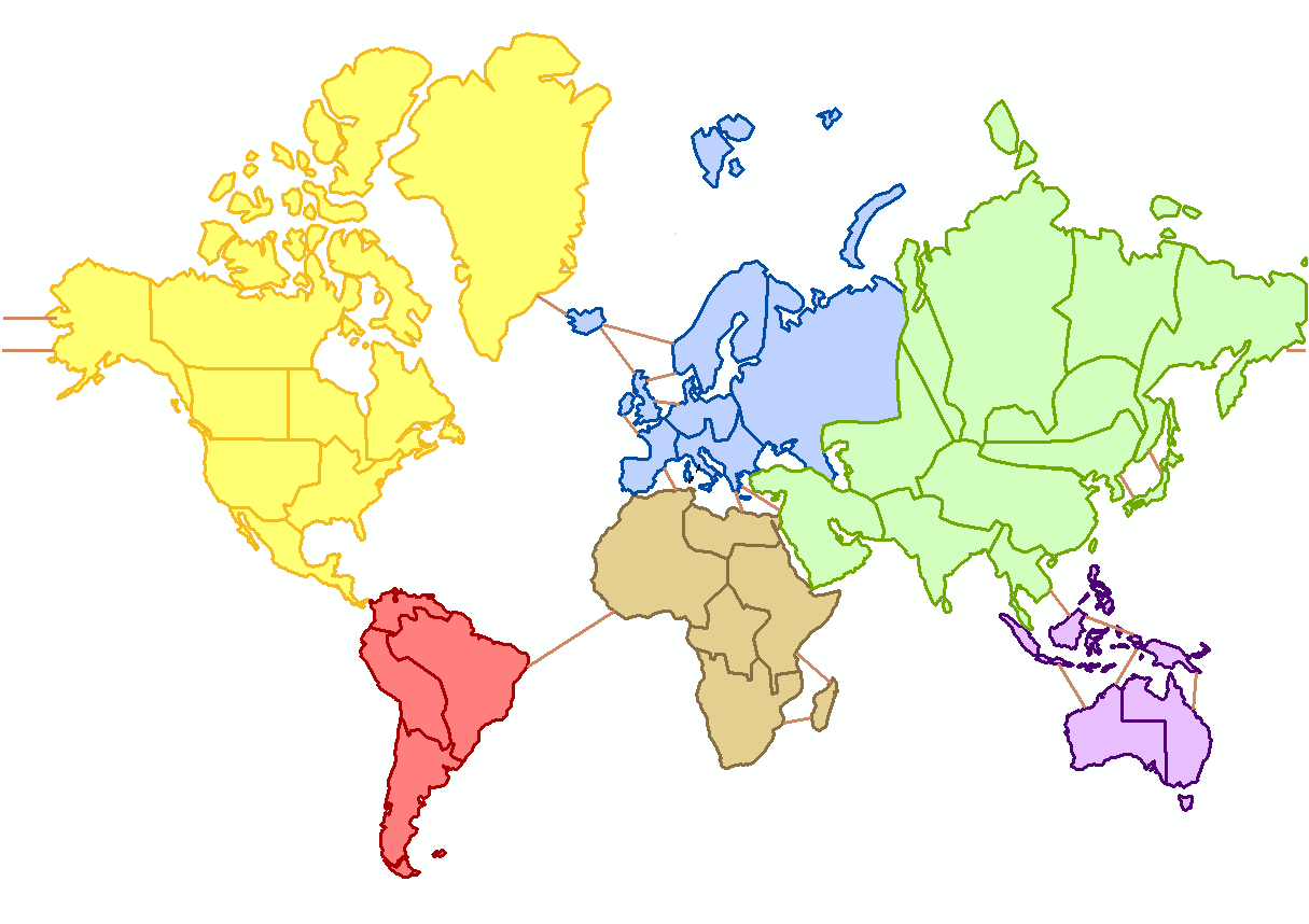 Copy World Map Without Labels 1