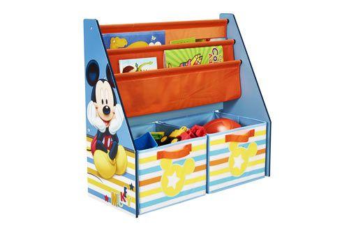 Bibliothèque 2 en 1 Mickey
