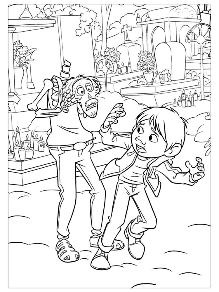 Coco Movie Coloring Pages Below Is A Collection Of Coco Coloring