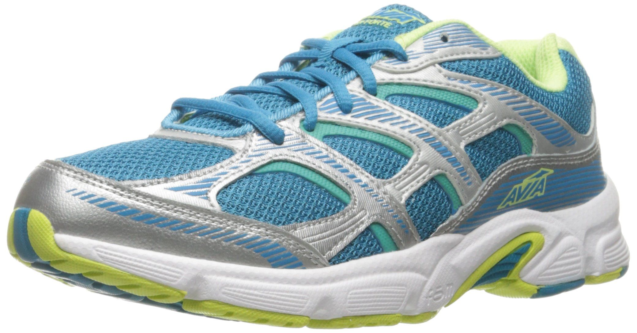 AVIA Women's AviForte Running Shoe, Malibu Teal/Chrome