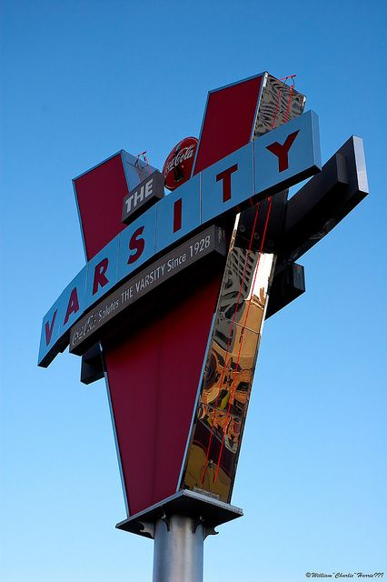 And nothing like the aroma from The Varsity calling my name after service at All Saints'!