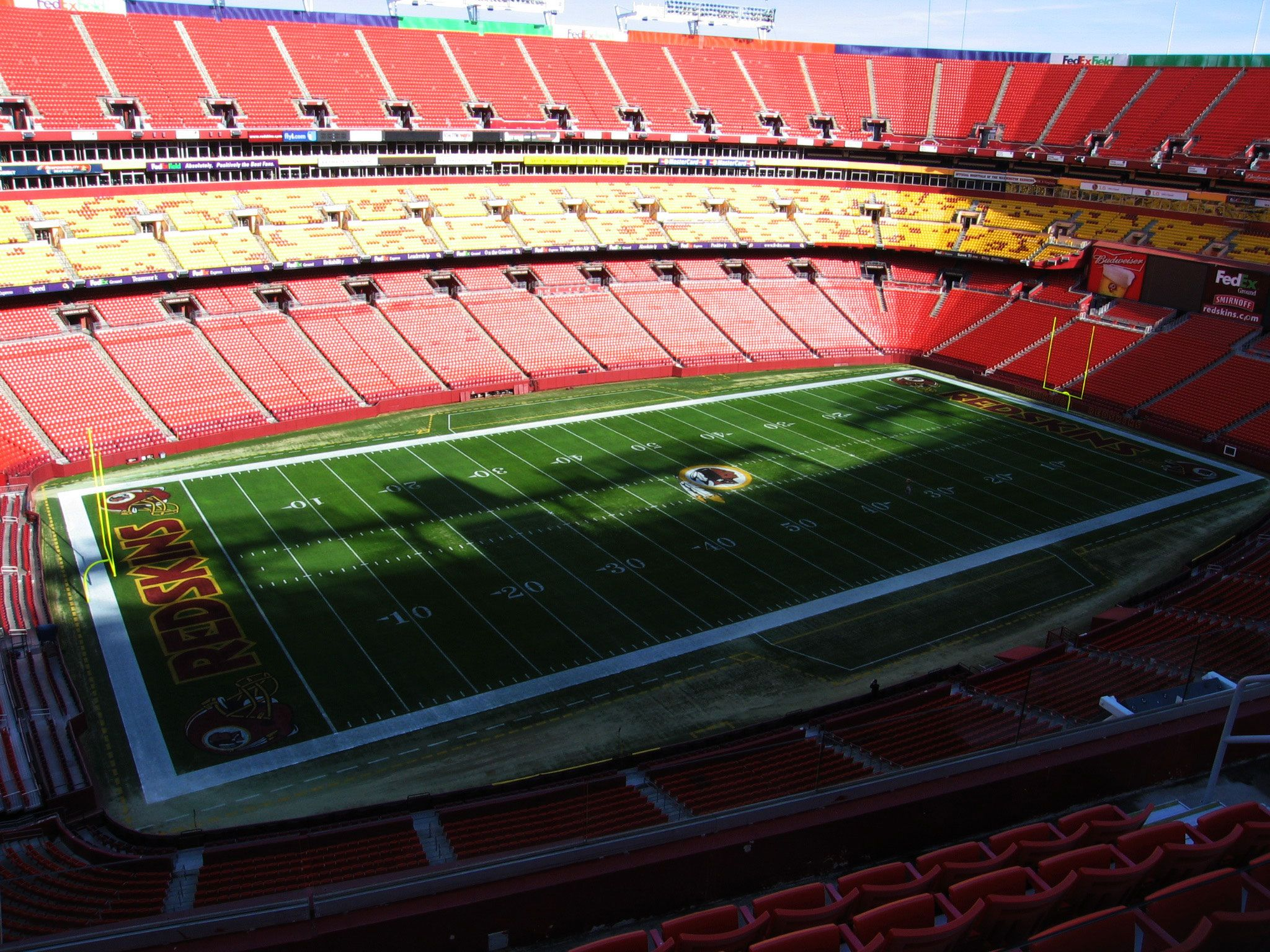 FedEx Field Redskins