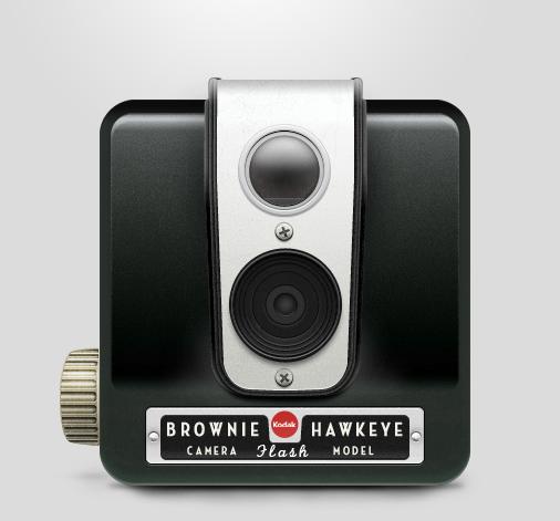Kodak brownie hawkeye big