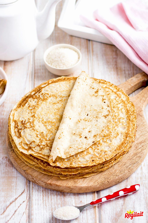 Crepe Flocon D Avoine : crepe, flocon, avoine, Crêpes, Flocons, D'avoine, Régilait, Recette, Avoine,, Flocon, Alimentation