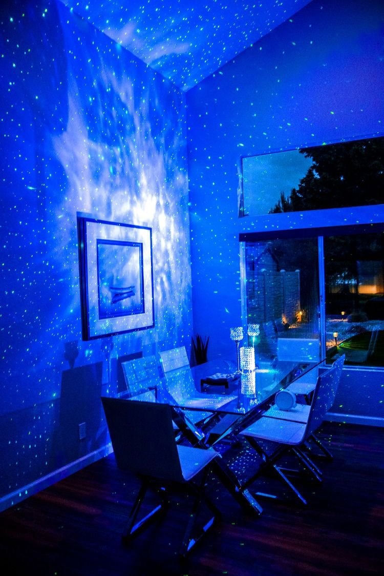 Transform Your Home With A Galaxy Of Stars And A Moving Nebula The Skylite From Blisslights Makes It Easy With Just On Powder Room Design Blisslights Room
