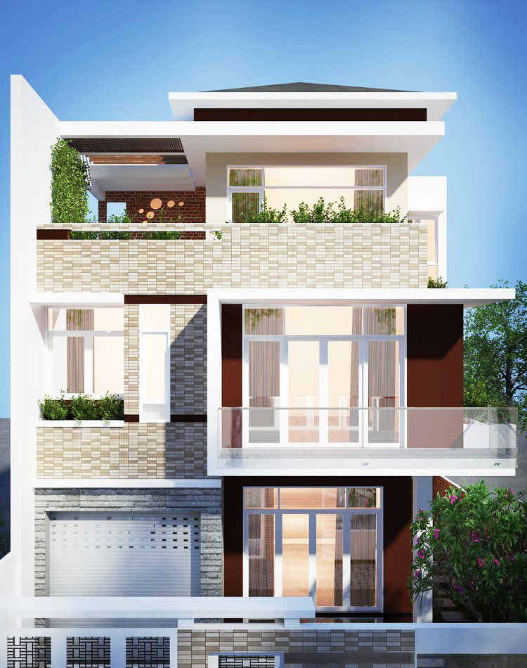 Three Storey Modern House Design Pinoy House Designs 3 Storey House Design Modern House Design House