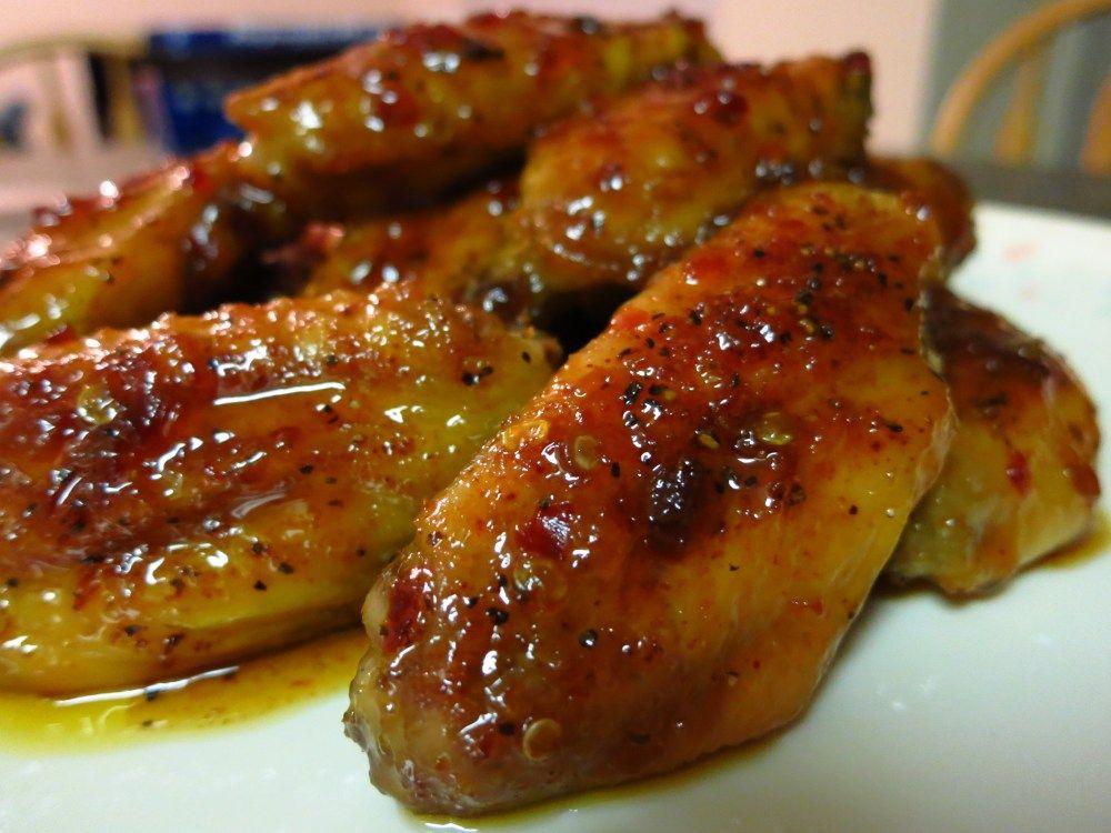 Asian Zing And Honey Bbq Chicken Wings Honey Bbq Chicken