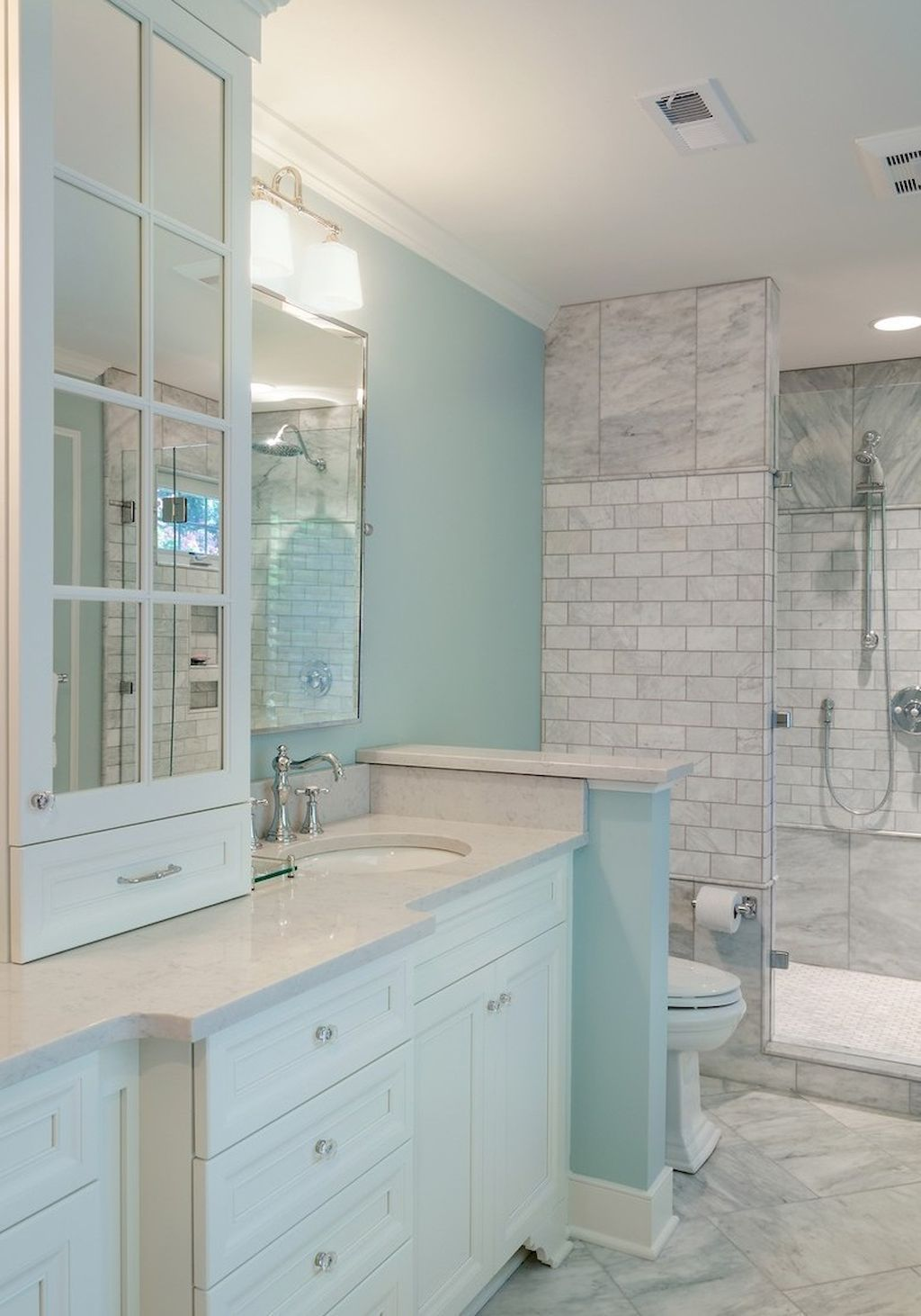Coastal Beach House Bathroom Remodel Designs (62) | Beach House Bathroom, House Bathroom, Bathroom Remodel Designs