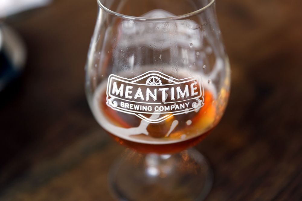 Meantime is another new and somewhat Americanized brewery in the UK. None of their offerings were served from casks and all again had a somewhat American flair to them.