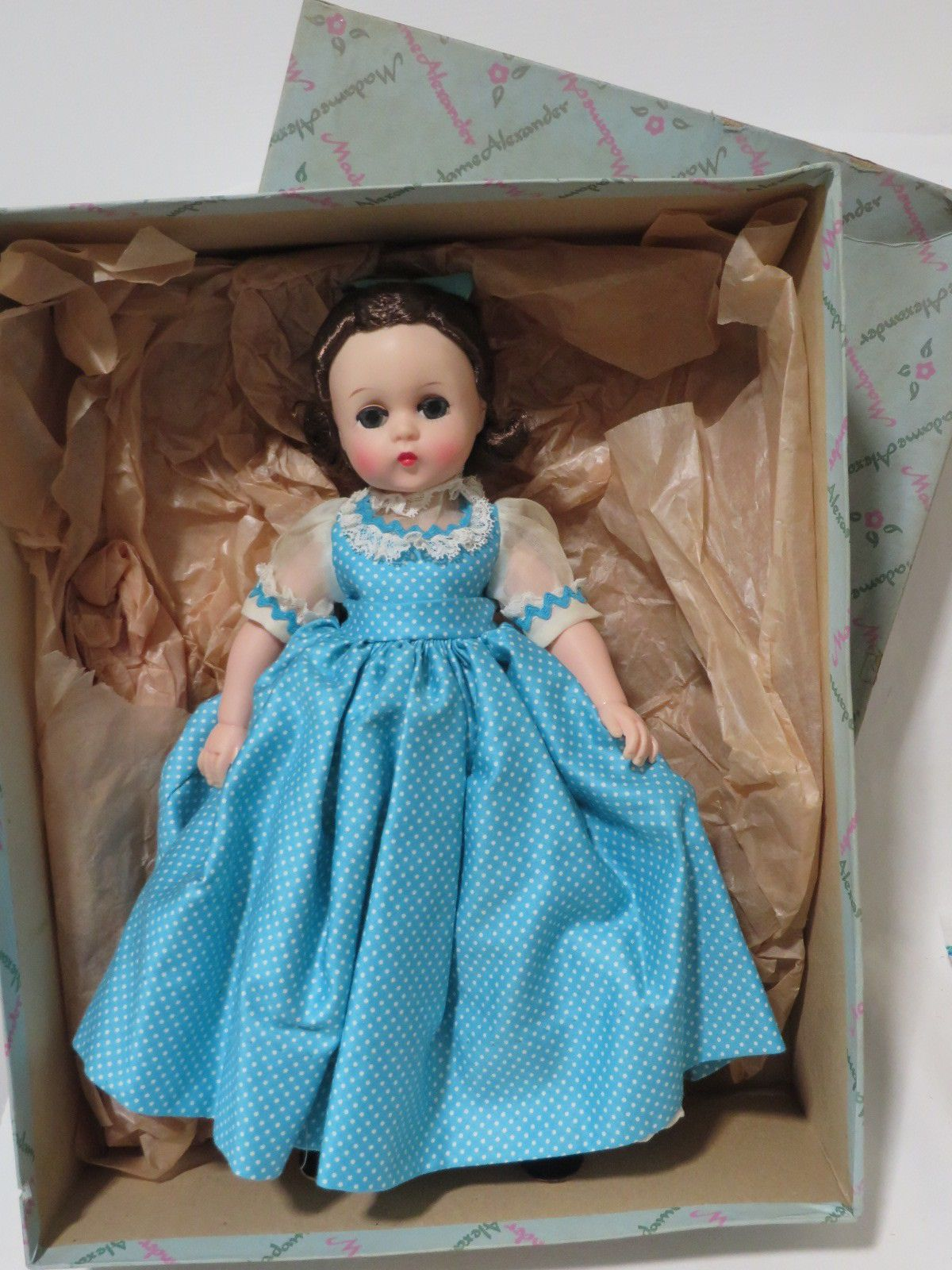 "VINTAGE ALEXANDER LISSY LITTLE WOMEN 11.5"" DOLL BETH Near"