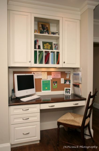9 Ways To Design A Kitchen Desk With Style Kitchen Office Nook