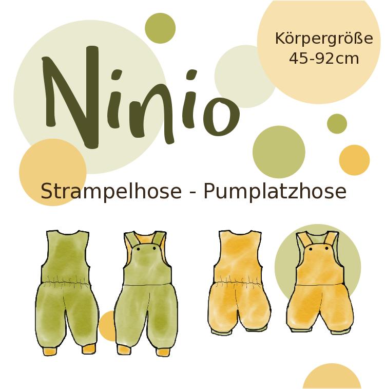 Photo of Hier findet Ihr die Nähanleitung zur Strampel- oder Pumplatzhose Ninio. Die Anl…