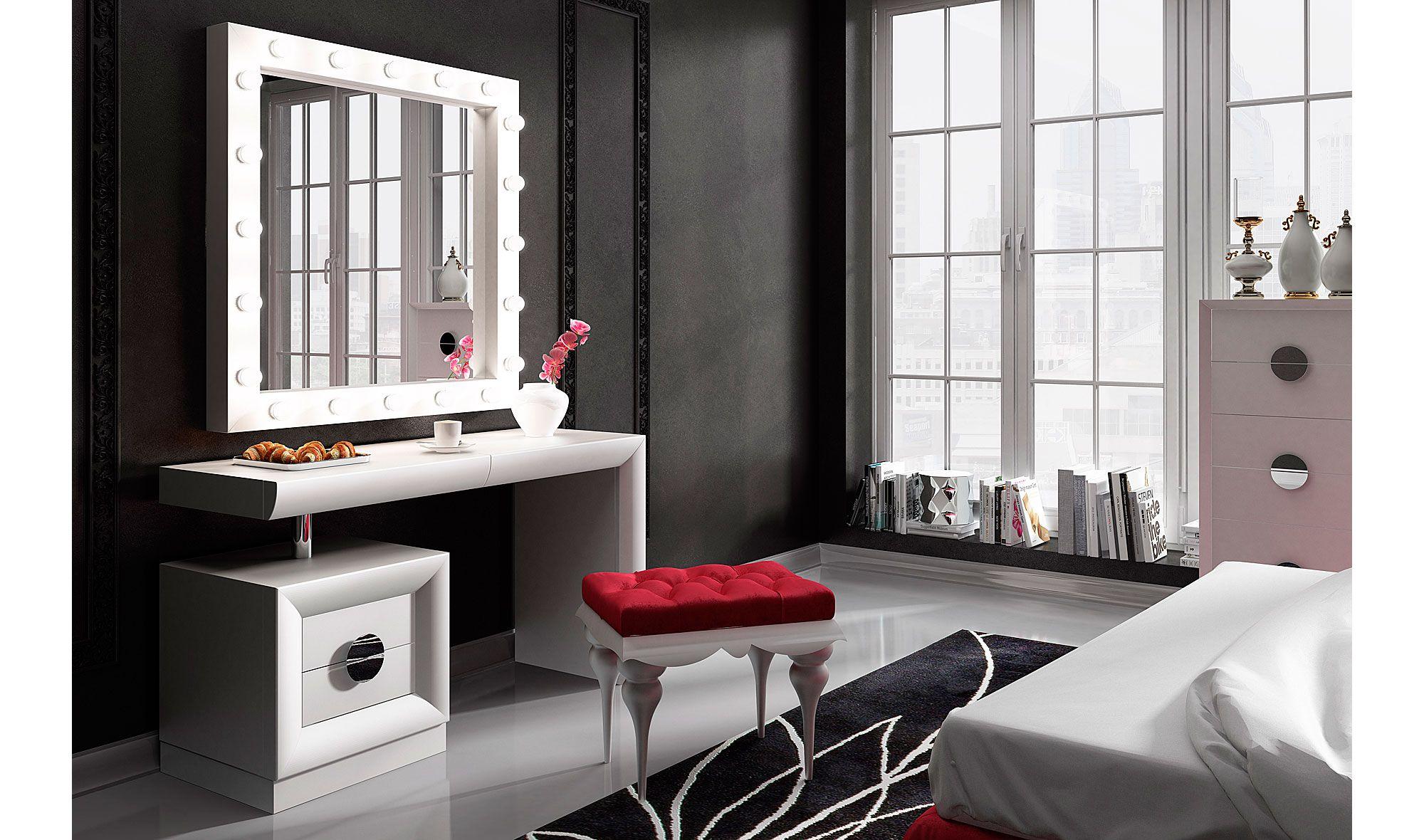 Resultado de imagen para tocadores modernos en blanco tocadores - Tocador moderno dormitorio ...