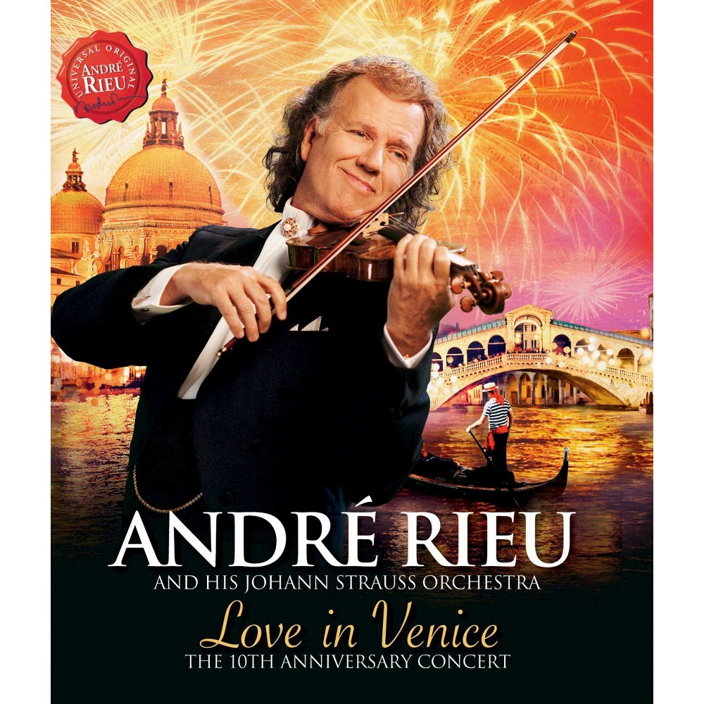 Andre Rieu Love In Venice Dvd With Images Andre Rieu