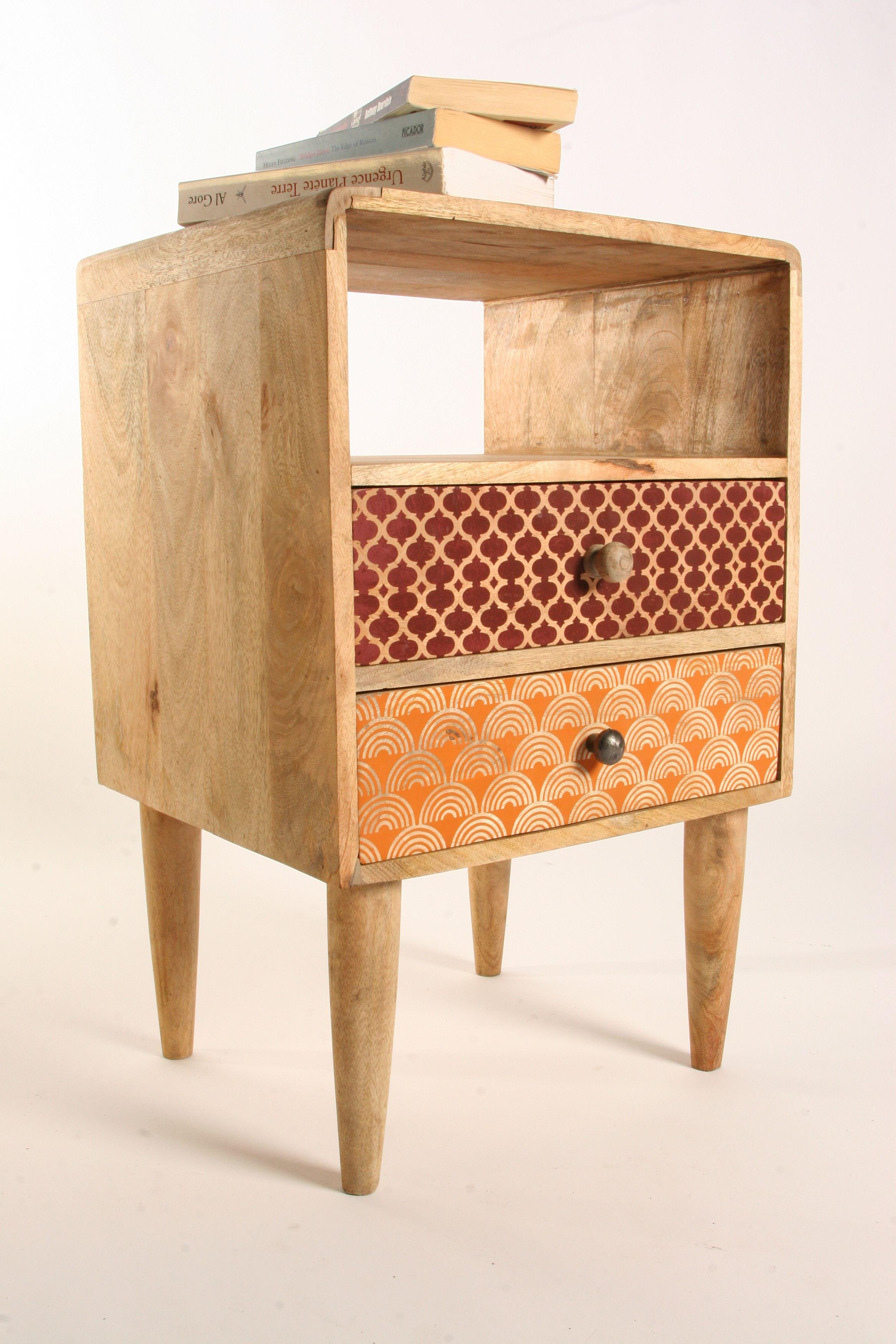 Table D Appoint Chevet Design Bois Http Www Sweetmango Fr Fr  # Sortes Des Meuble En Bois Morte Television
