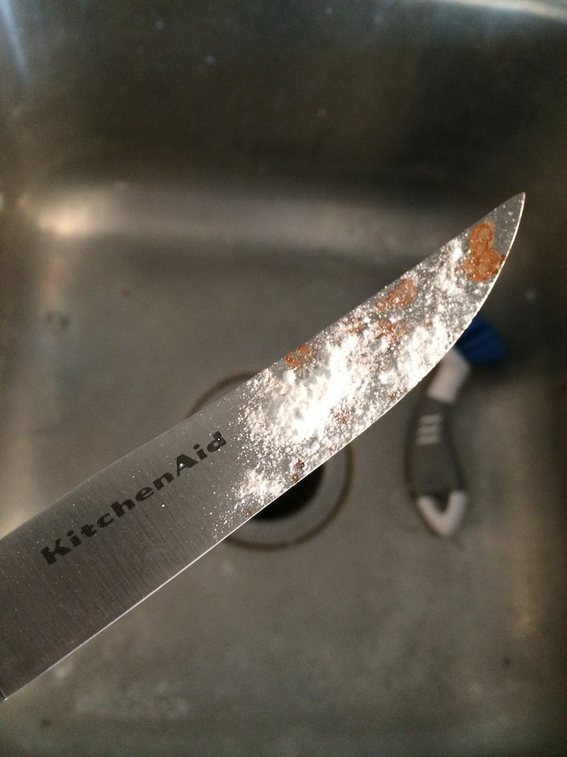 How To Clean Rusted Stainless Steel Knives Chaotically Creative
