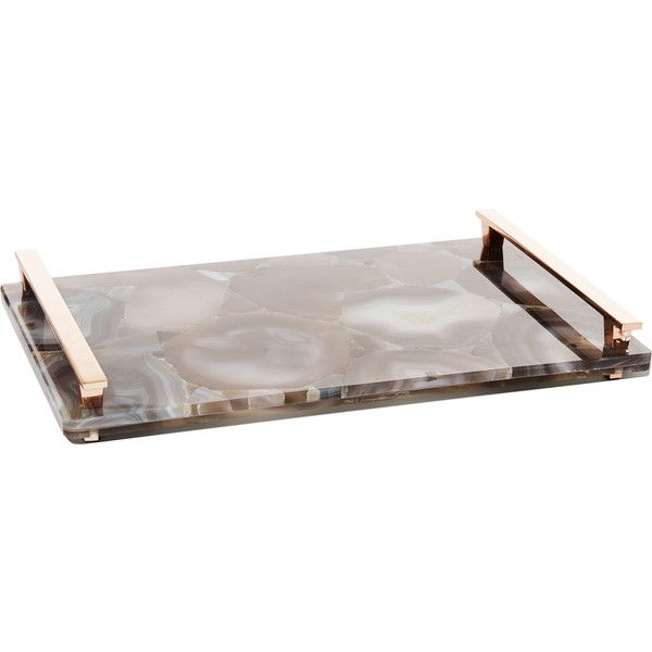 Decorative Tray Enchanting Tan Agate Decorative Tray With Rose Gold  Kendra Scott €425 2018