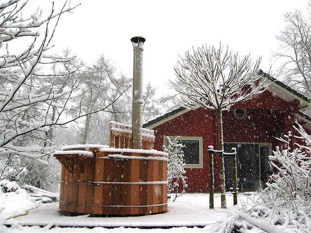 Hottub in snow Alpine, Mtn, Altitute Pinterest Backyard, Home