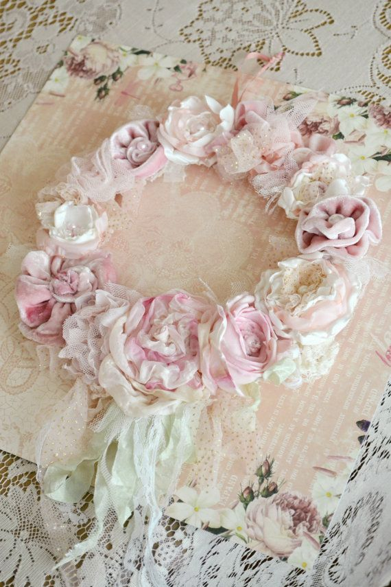 This Item Is Unavailable Shabby Chic Flowers Work Wreath Shabby Chic Wreath