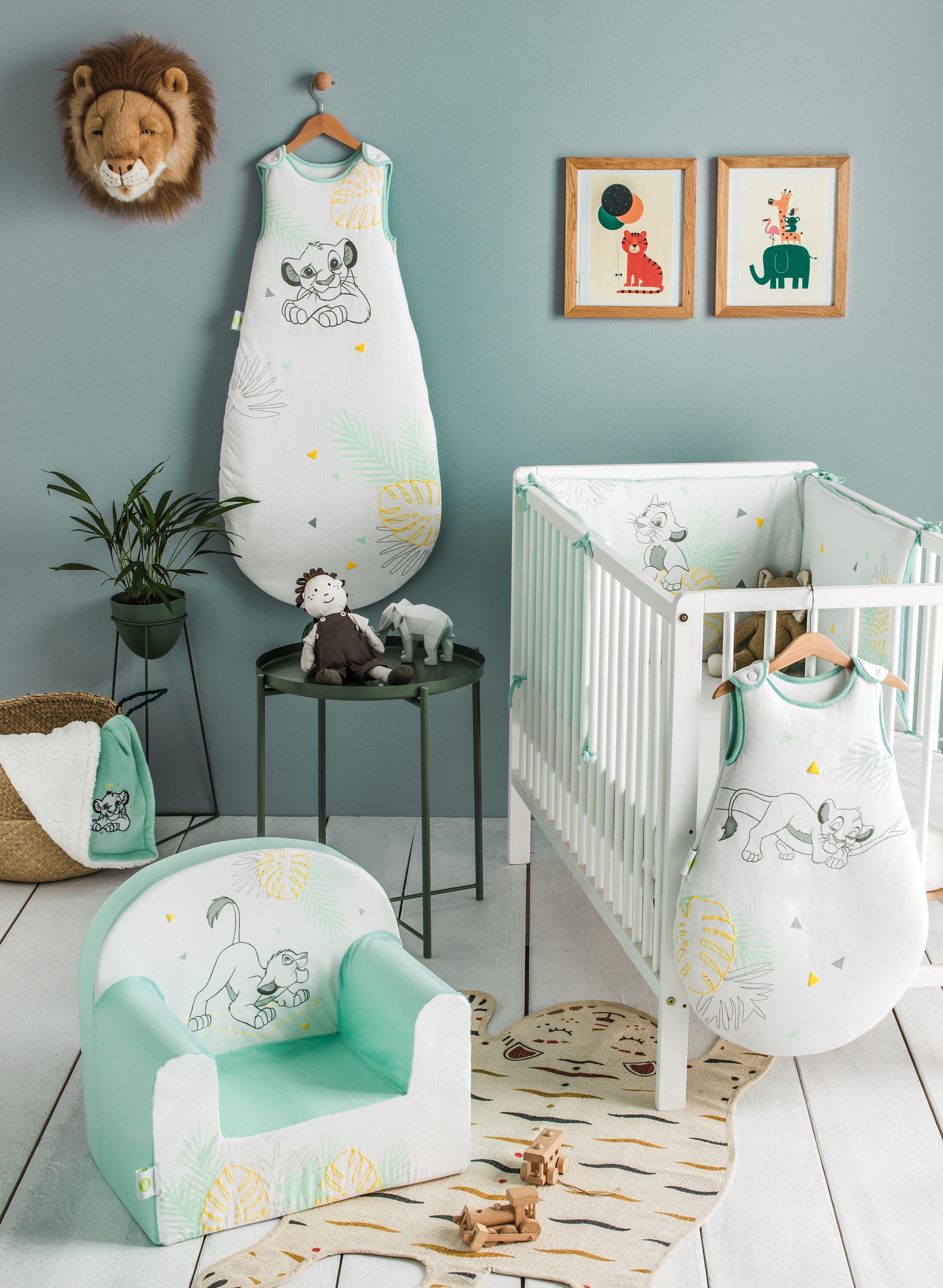 Chambre bébé Roi Lion Disney en 17  Chambre bébé disney