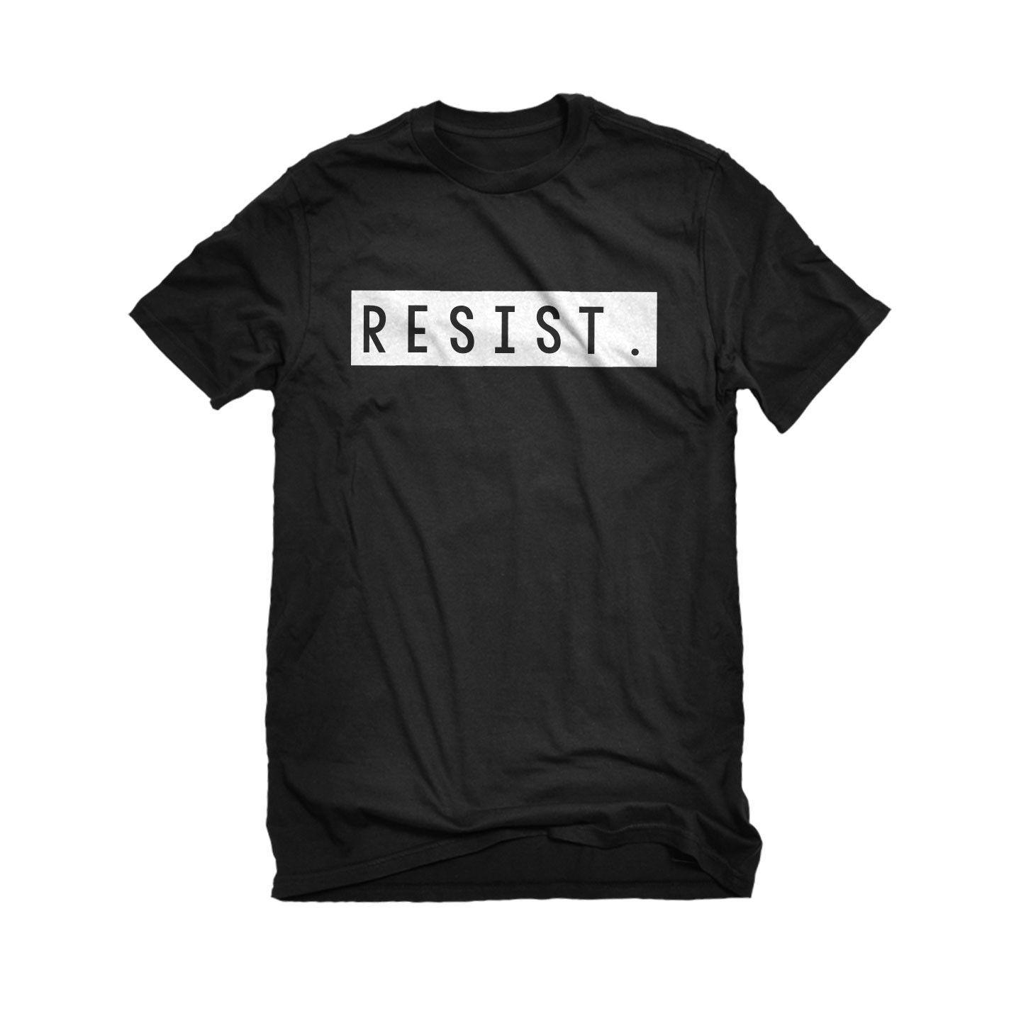 Resist Mens Unisex T-shirt