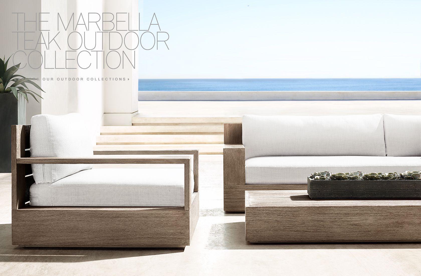 RH Modern · Sofa IdeasGarden FurnitureOutdoor ...