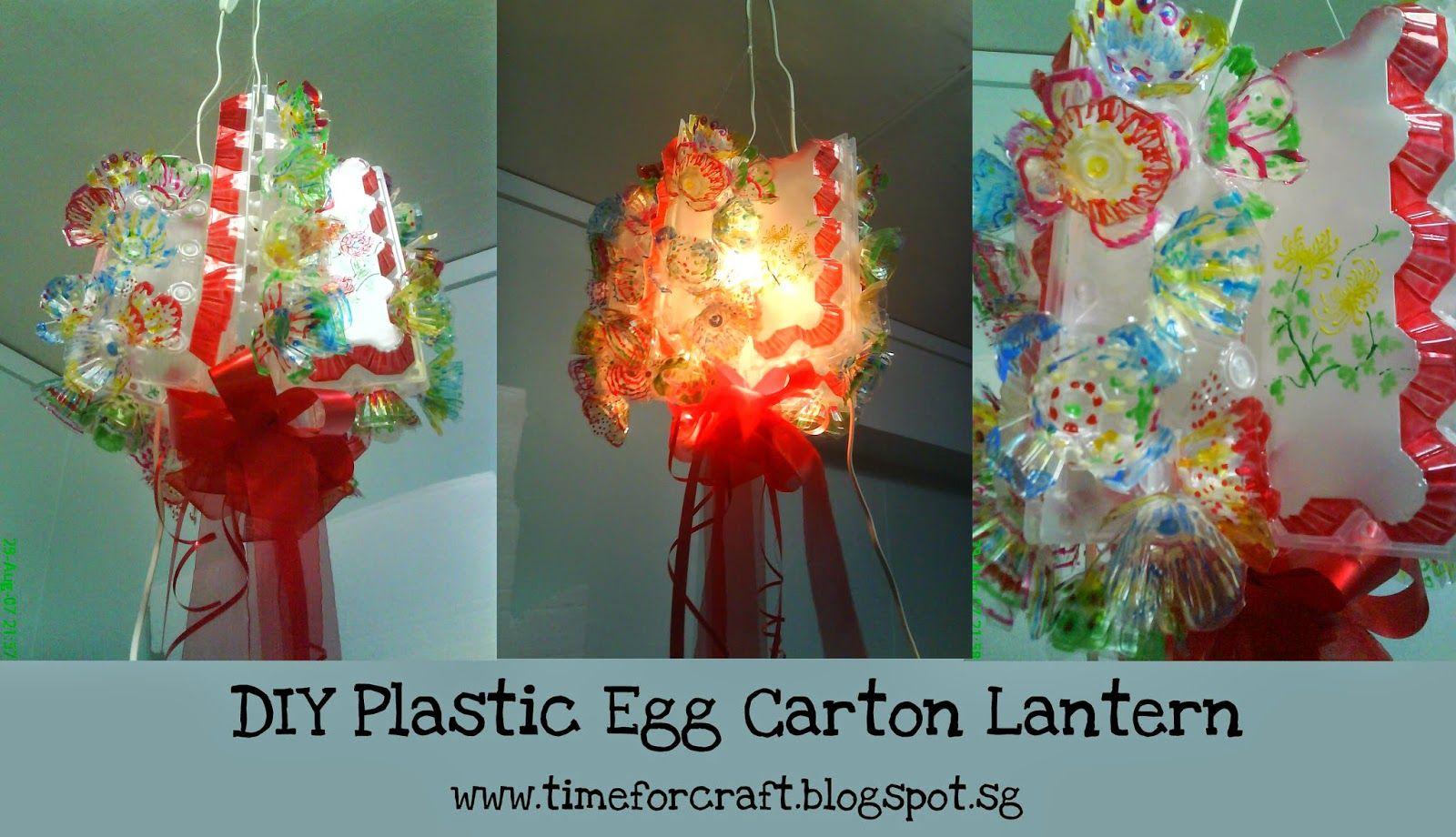 Diy Kid S Lantern Idea With Plastic Egg Carton Www Timeforcraft Blogspot Com Plastic Eggs Kids Lantern Diy For Kids