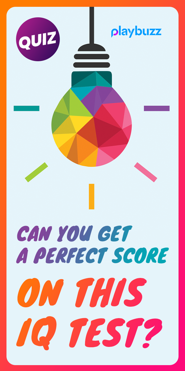 Can You Get A Perfect Score In This IQ Test? Knowledge