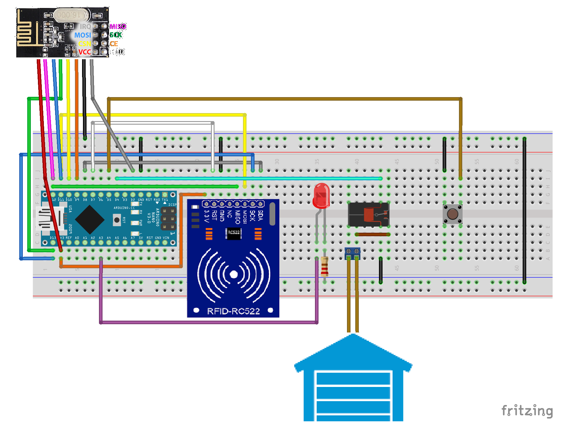 eeprom arduino write anything in the space