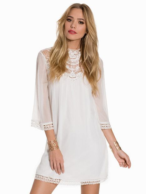 133631d4a8cc Vikana Dress - Vila - White - Dresses - Clothing - Women - Nelly.com ...