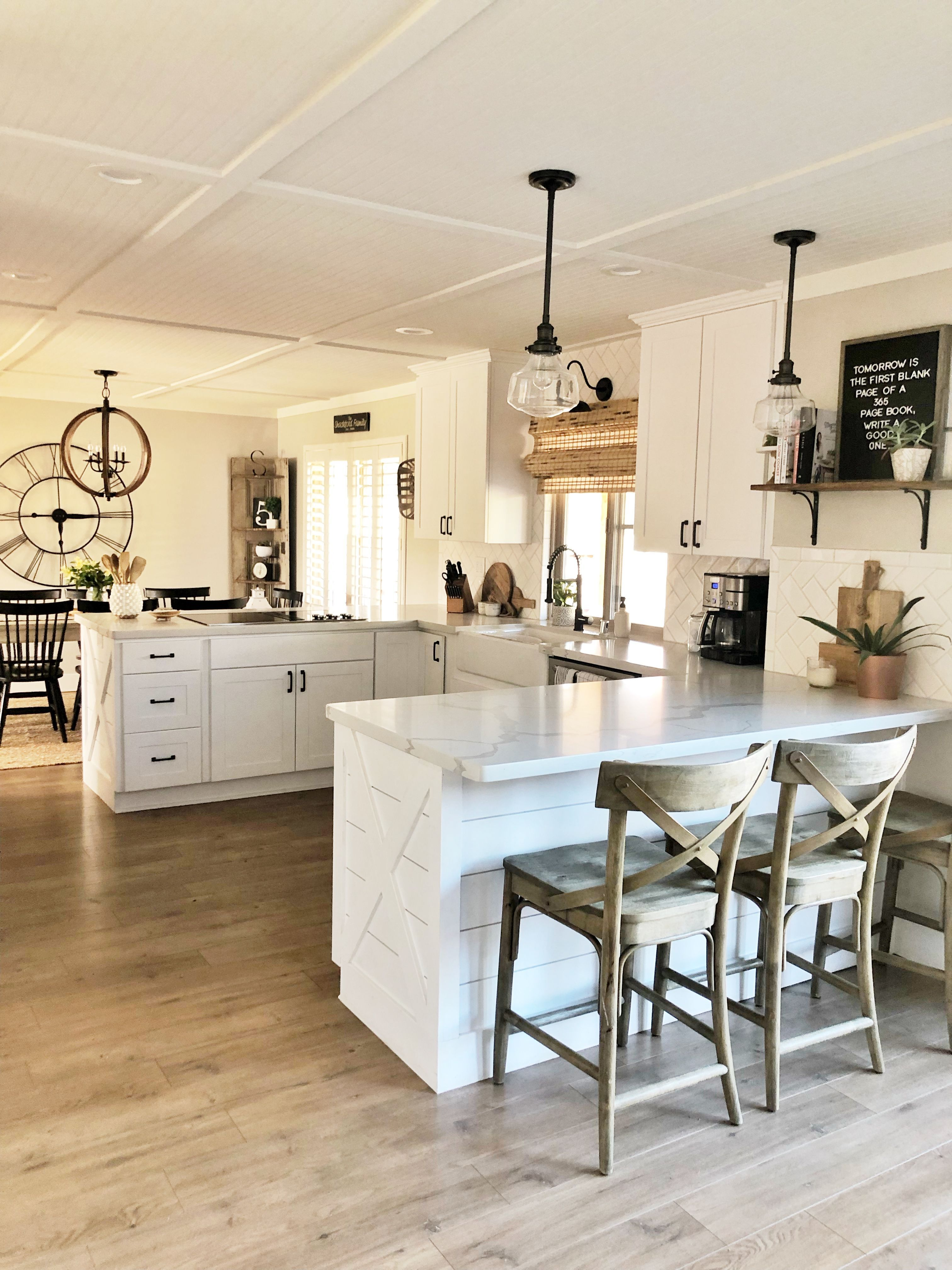 u shape kitchen with farmhouse style kitchen remodel small kitchen design small white on u kitchen remodel id=96649