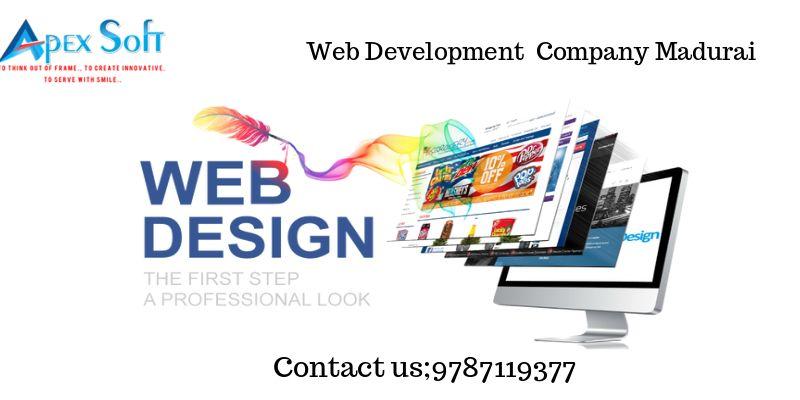 Webdesigncommpanymadurai At Apex Soft Designers We Render Absolute Redesign Support To Help Clients Obtain Web Development Design Web Design Best Web Design