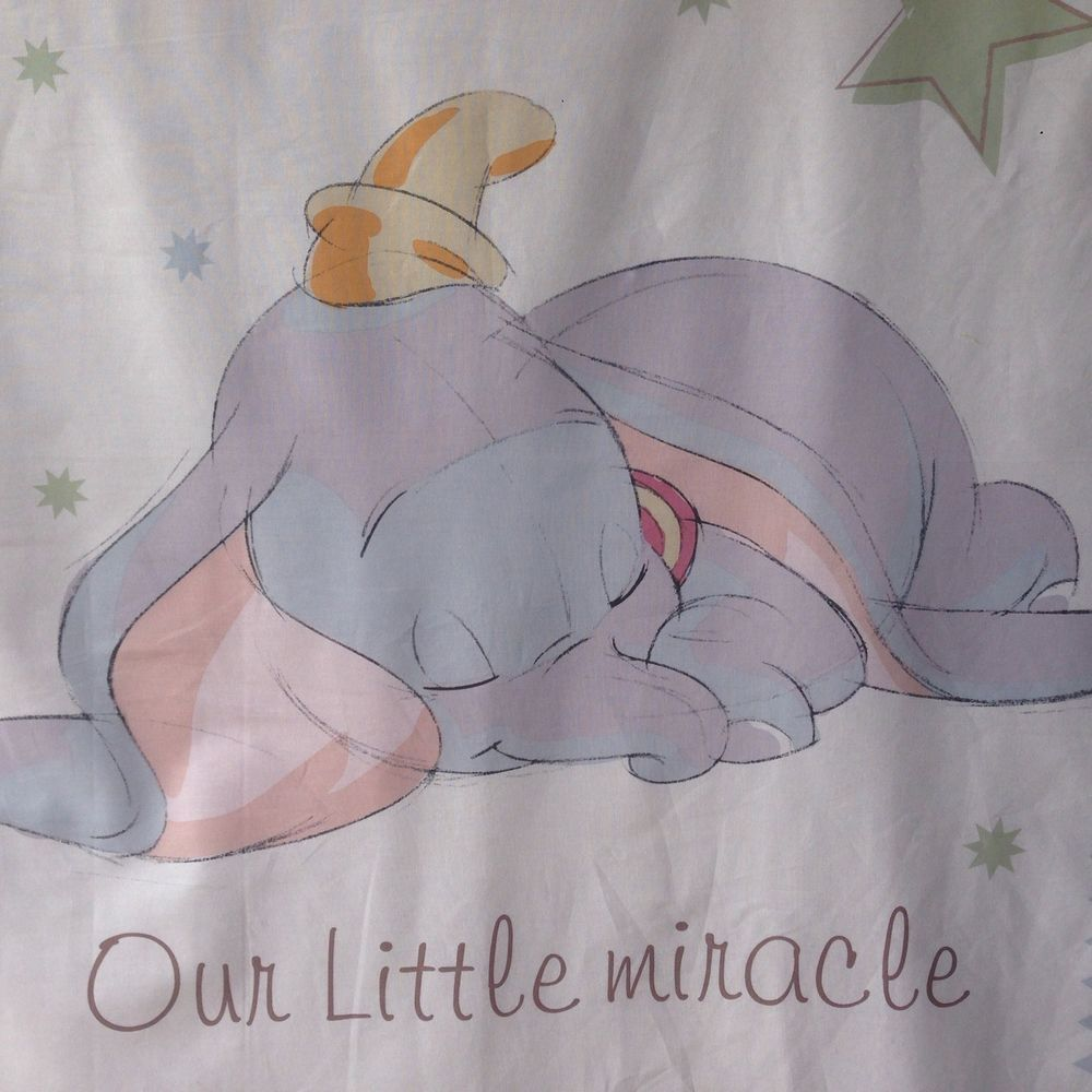 Disney Dumbo The Elephant Our Little Miracle Quilt Fabric