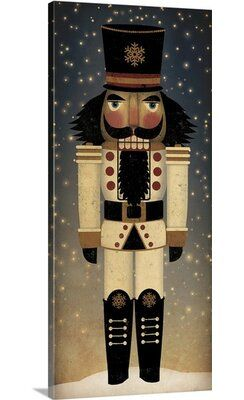 Great Big Canvas 'Nutcracker IV - Nighttime Background' by Ryan Fowler Graphic Art Print Format: Canvas, Size: 60
