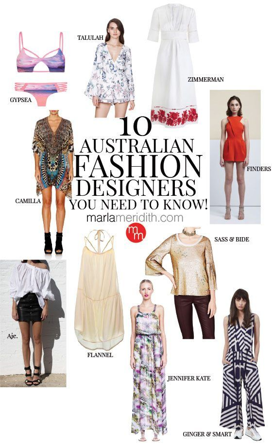 10 Australian Fashion Designers You Need To Know Australian Fashion Designers Australian Fashion Fashion