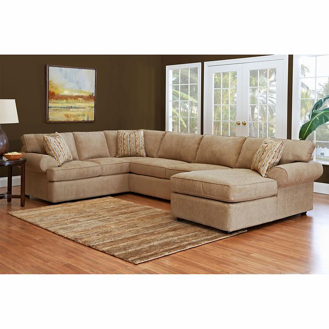 Jillian Fabric Sectional From Costco Online Only Charlotte Jerry