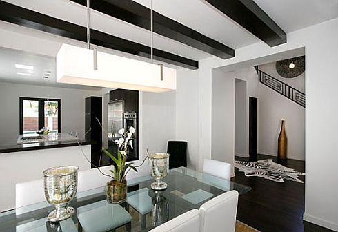 Black U0026 White Dining Room By Tom Atwood Ideas