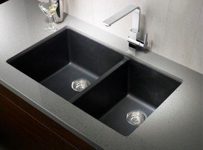 Blanco Silgranit Sink Black Available In Saskatoon From