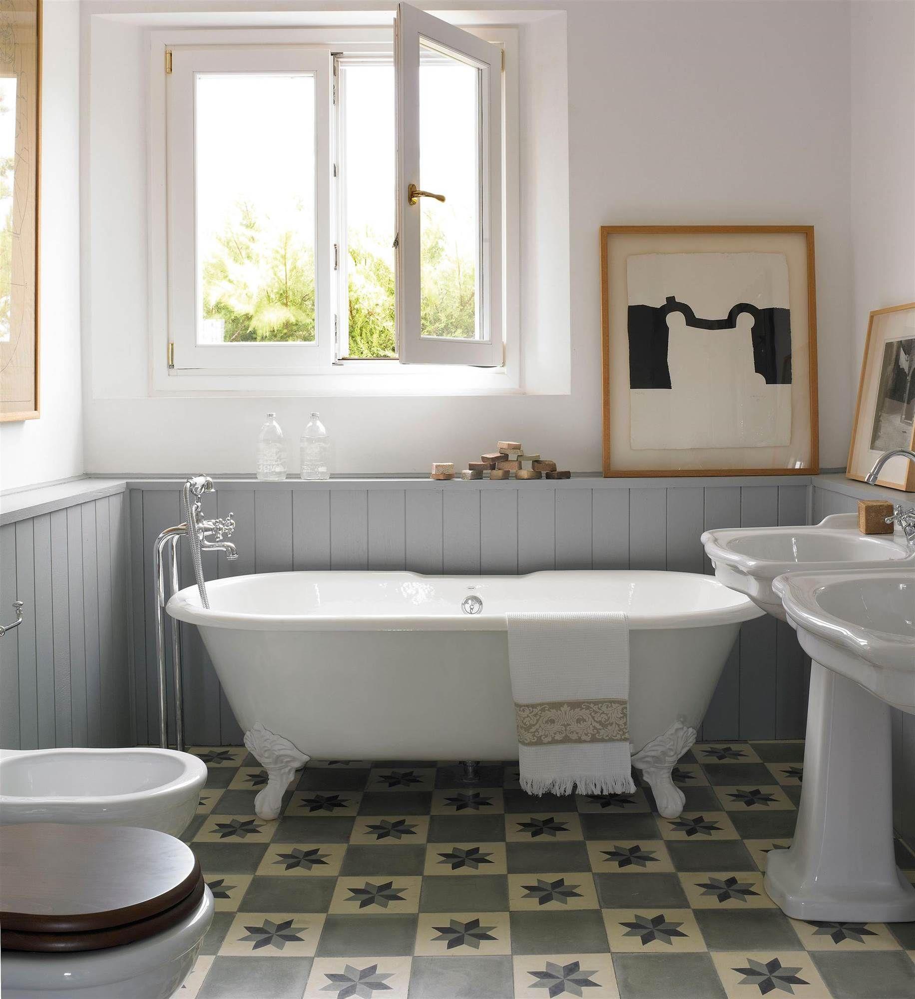 Suelos hidr ulicos ideas dise os y ejemplos bathrooms for Suelo hidraulico bano
