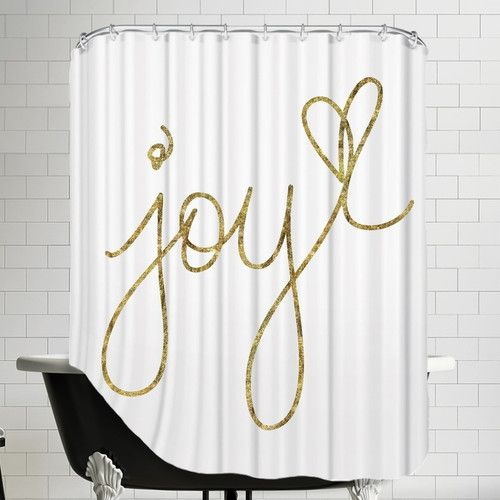 Found It At Allmodern Joy Shower Curtain Christmas Shower
