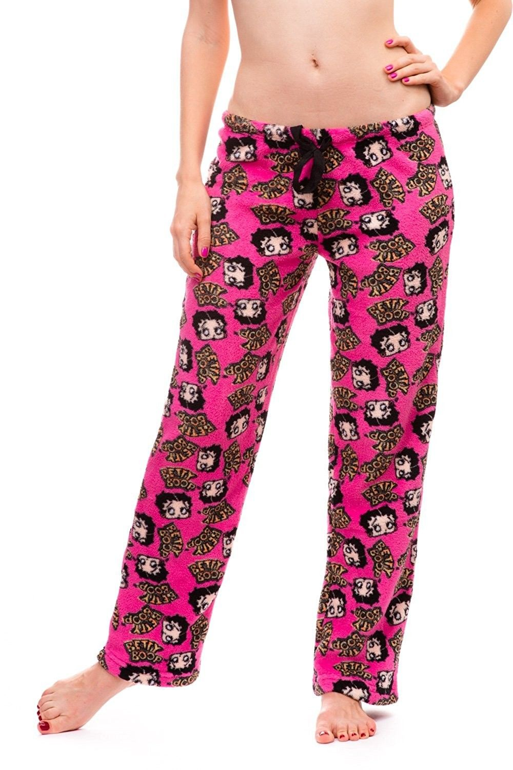 968bee4fb1 Women s Warm and Cozy Plush Pajama Bottoms - Hot Pink - CR128BOU3S7 ...