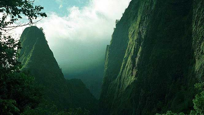 . @HINatureCenter (located within Iao Valley) features an Interactive Nature Museum