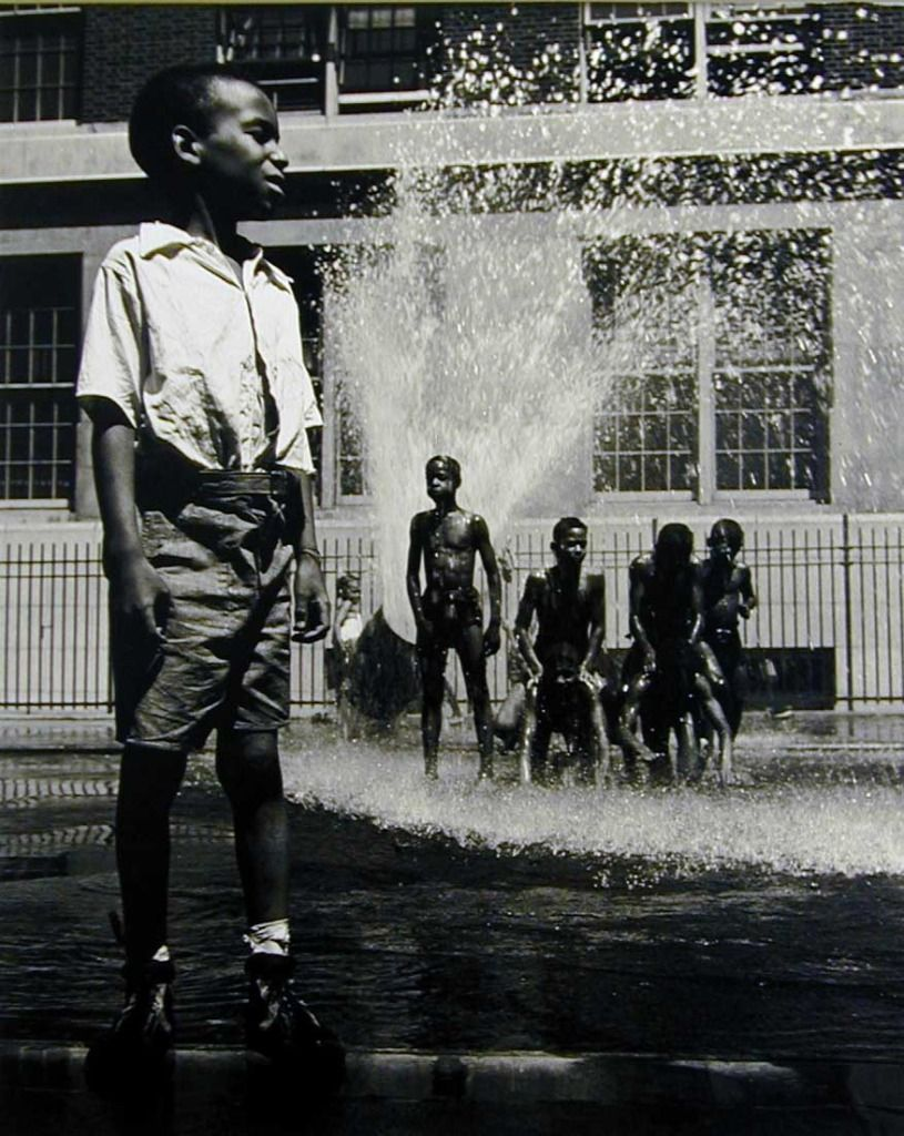 Boy Street Shower | From a unique collection of photography at http://www.1stdibs.com/art/photography/