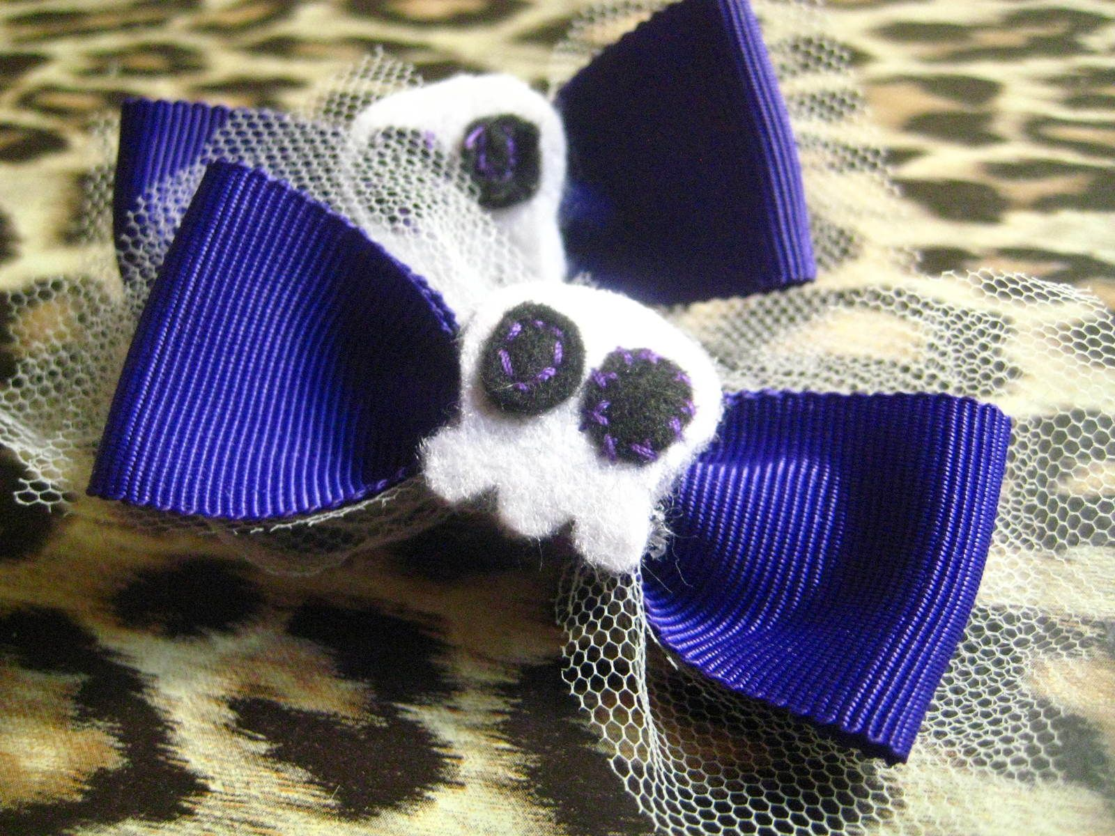 Cute Gothy Hair Clips
