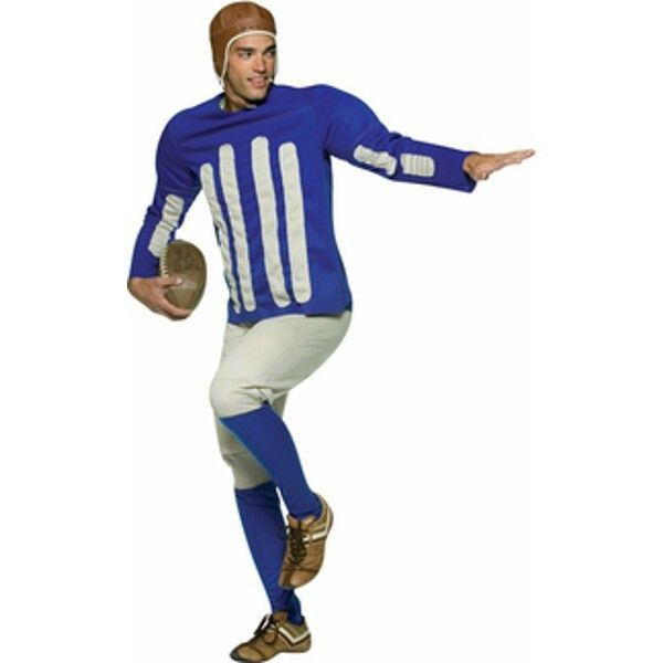 adult old time football player costume - Halloween Costume Football