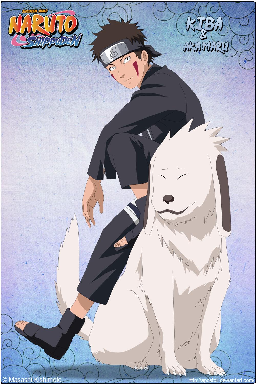 Kiba Inuzuka and Akamaru by Apostoll Naruto, Naruto