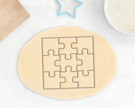 good selling best value classic fit Puzzle Cookie Cutter – Jigsaw Cookie Cutter Puzzle Piece ...