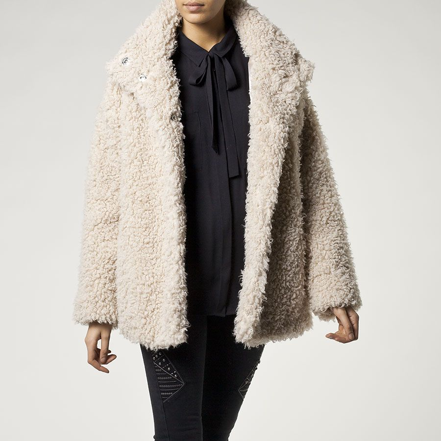 Manteau femme bouclette ikks