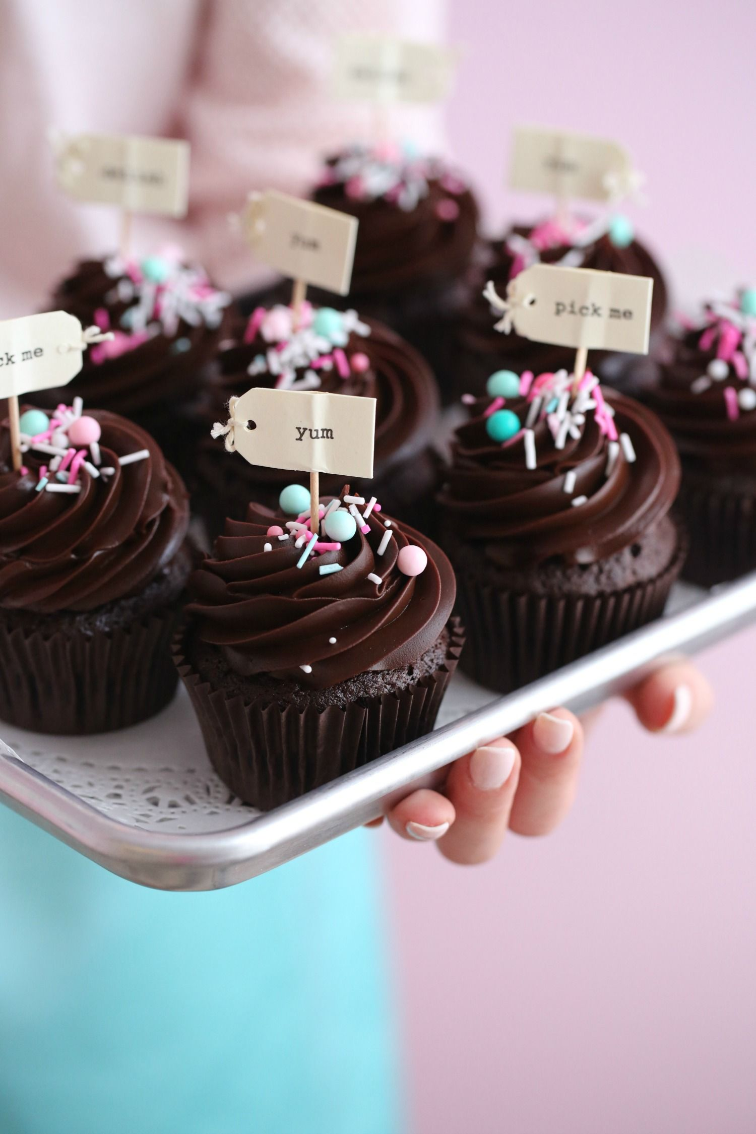 CHOCOLATE CUPCAKES & COFFEE GANACHE - Passion For Baking :::GET INSPIRED:::